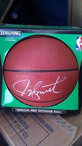 JOE SMITH SIGNED NBA BASKETBALL