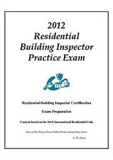2012 ICC Residential Bldg Inspector Practice Exam on USB Flash Drive