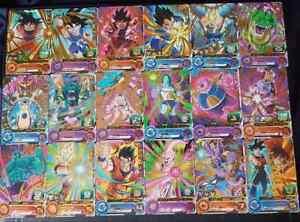 Carte-DBZ-Super-Dragon-Ball-Heroes-Universe-Mission-Part-3-UM3-Rare-Regular-Set