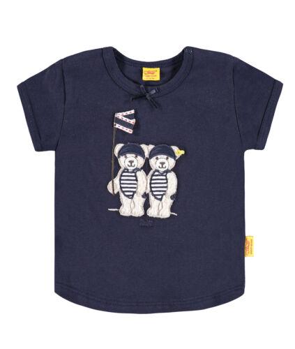 /%/%/% STEIFF Newborn Little Girl Shirt Teddypiratin blau Gr.56-86 NEU /%/%/%