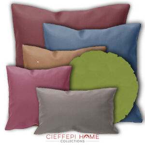 Federe Per Cuscini Arredo.Faux Pillow Case Cushion Cover Furniture In Different Sizes And