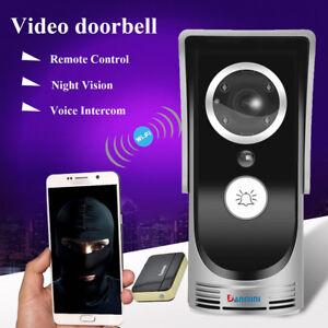 Détails sur 2018 Wireless WiFi Remote Video Intercom Doorbell IR Camera for  APP Android/IOS