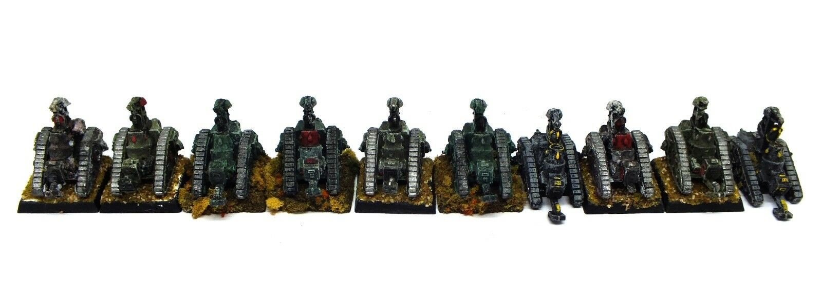 Epic - Imperial Guard Bombard Siege Mortar (painted) - 6mm