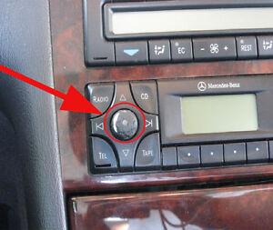 Mercedes-ML-Radio-Control-boton-ML320-ML430-ML55-Ml350-Ml500