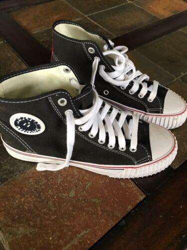 PF Flyers Center Hi MC1001BK Black Classic Shoes U