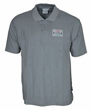 Mens Beck's Vier Polo Shirt Size Large 100% Cotton