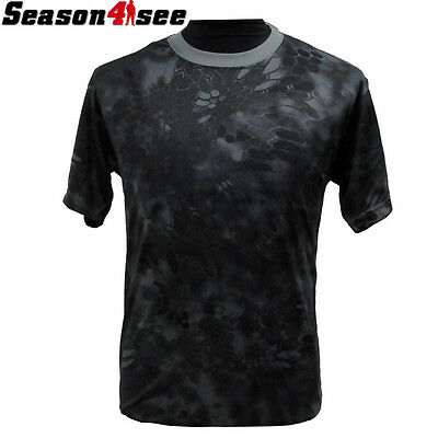 Unisex Airsoft Tactical Quick Drying T-shirt Paintball Hunting Typhon M-XXL