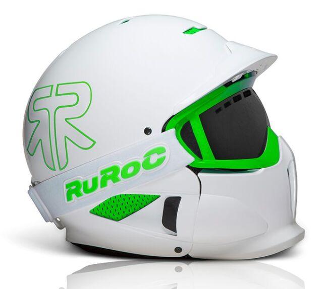 1f37d4cb4d9f84 Ruroc White RG1-X Ski/Snowboard Helmet - Brand New - 2014/15 Range