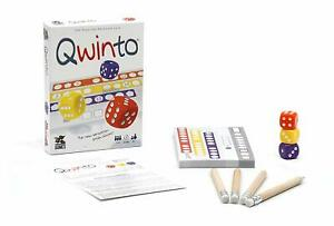 Qwinto Dice Game Pandasaurus Games PAN201866 Fast Paced Family