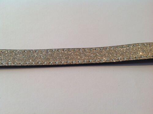 Elige Color Pulsera Correa Cuero pvu Plano Cable para la fabricación de joyas 15x2mm