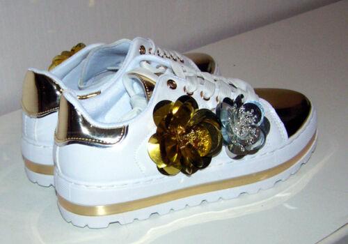 Damen Laufschuhe Sportschuhe Sneaker Freizeit Glitzer  FCR101W Ballerinas