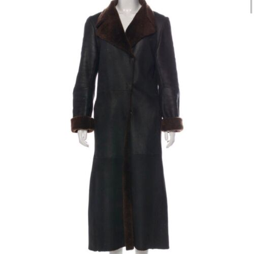 Connolly Shearling Coat
