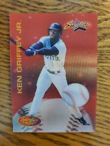 Ken Griffey Jr. 1994 Pinnacle Sportflics Starflics #181 Seattle Mariners