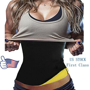 Hot-Sweat-Sauna-Waist-Trainer-Cincher-Women-039-s-Slimming-Neoprene-Body-Shaper-Belt