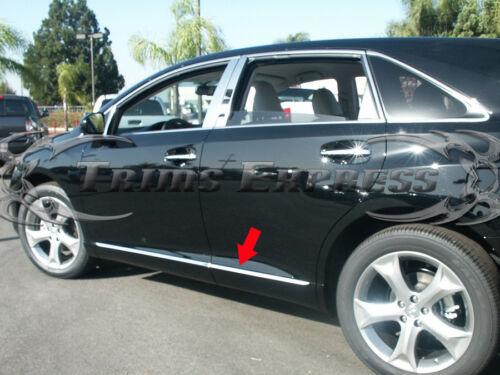 "2007-2013 Mazda CX-7 CX7 4Pc Stainless Steel Flat Body Side Molding Trim 1/"""
