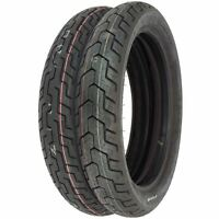 Dunlop D404 Tire Set - Honda Cx500c/d Gl500 Cb550sc Cb650c/sc Gl650 - Tires Only