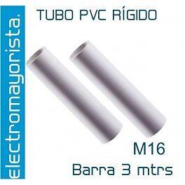 3 mtrs Tubo PVC Rígido  M16