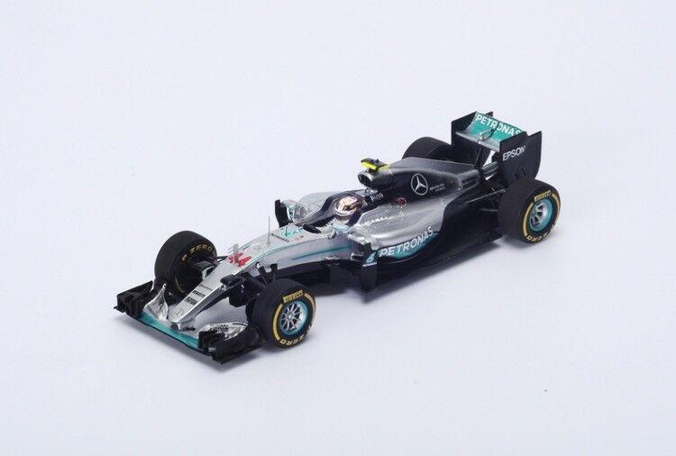 Lewis Hamilton Mercedes F1   44 Winner Monaco GP 2016 à l'échelle 1 18 par Spark