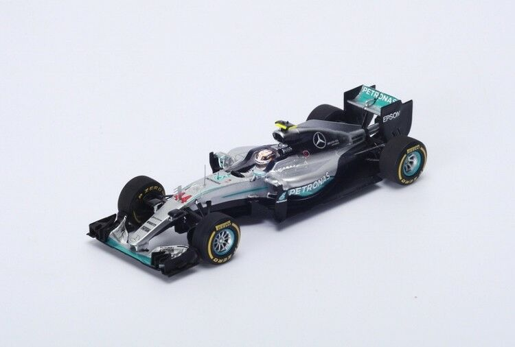 Lewis Hamilton Mercedes F1 Winner Monaco GP 2016 in 1 18 Scale by Spark