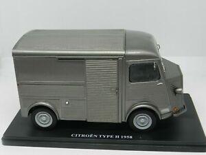 Salvat-coches-inolvidables-1-24-Citroen-H-1958-HY-Ixo-cochesaescala