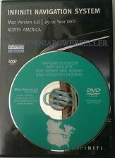 Infiniti Nissan Navigation DVD Map 6.8 Update   Read Compatible Vehicles List