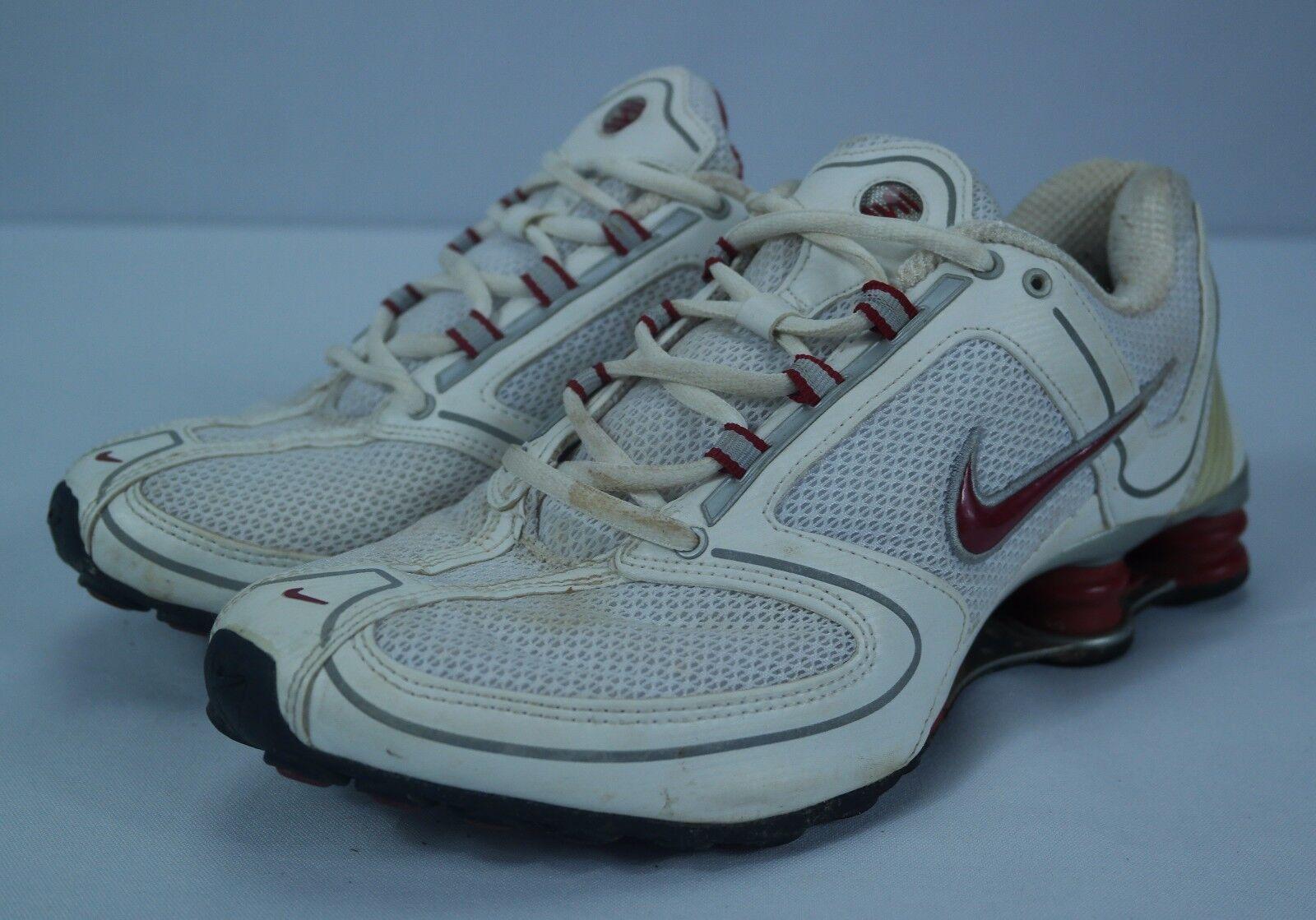 Women's White/Red/Grey Nike White/Red/Grey Women's Shox RNG Running Sneaker Shoes () - Sz 10 e7a11b