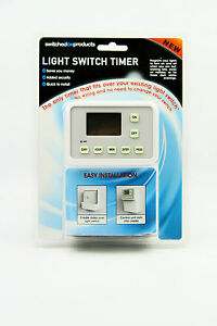 Timer light Switch No wiring required eBay