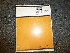 Case Model 580D Construction King Loader Backhoe Tractor Parts Catalog Manual