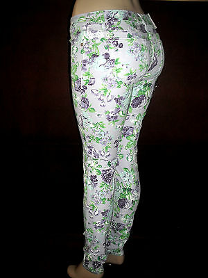 NWT Sexy,New Fashion Style,Floral,Flower Print,Jeans,Jeggings Pants,Slim Skinny