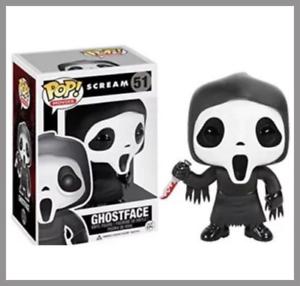 The Movie Scream Horror Ghostface Ghost Face #51 Vinyl Figure toys Funko Pop