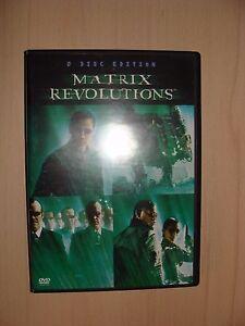 Matrix-Revolutions-2-Disc-Edition-Neo-Trinity-Morpheus-Keanu-Reeves-Fishburn-DVD