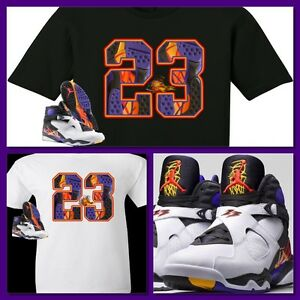 59959f277371 EXCLUSIVE TEE SHIRT TO MATCH THE NIKE AIR JORDAN 8 THREE-PEAT 3 PEAT ...
