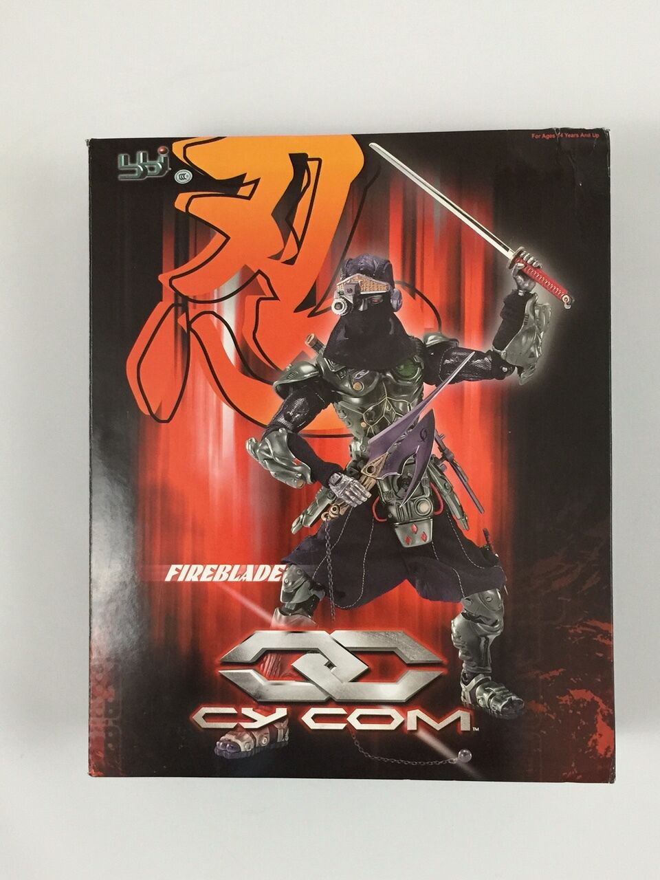CY Com Fireblade Action Figure 1 6th Scale by BBI