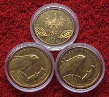 POLAND SET OF COINS 2 ZL ANIMALS PORPOISE 2004 YEAR ONE PIECE LOT 1 PC CAPSULE