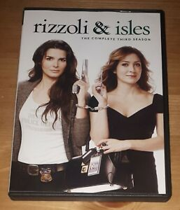 Rizzoli-amp-Isles-Season-3-DVD-3-Disc-Set-Complete-Third-Season