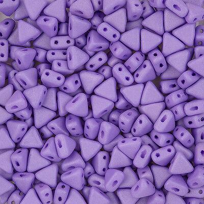 Kheops® par Puca® Czech Beads Opaque Violet Silk Matte 9g K99//10