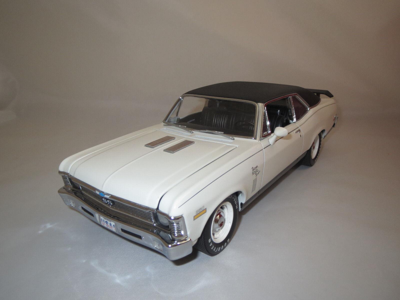 GMP CHEVROLET super nova  1970  (Blanc) 1 18 sans emballage