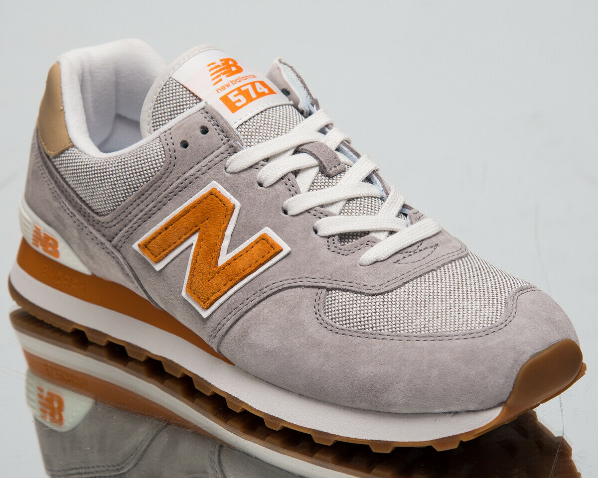 New Balance 574 Men's New Marblehead gold Casual Lifestyle Sneakers ML574-MDG