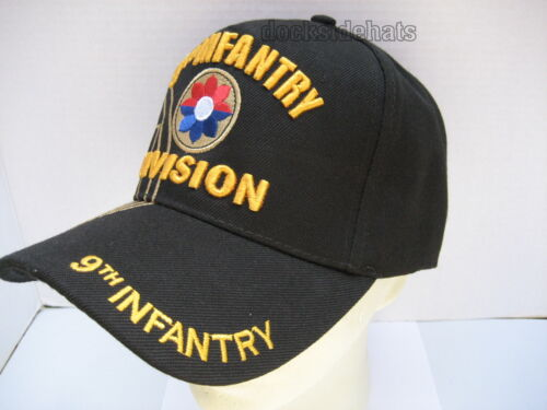 9TH INFANTRY DIVISION VETERAN Cap//Hat w// Shadow Military*FREE SHIPPING*