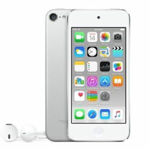 REFURBISHED-Apple-iPod-Touch-6th-Generation-IOS-16GB-Silver-amp-Wifi-Bluetooth-MP3