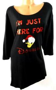 Terra-amp-sky-black-red-I-039-m-just-here-for-donald-ugly-christmas-top-2X-20W-22W