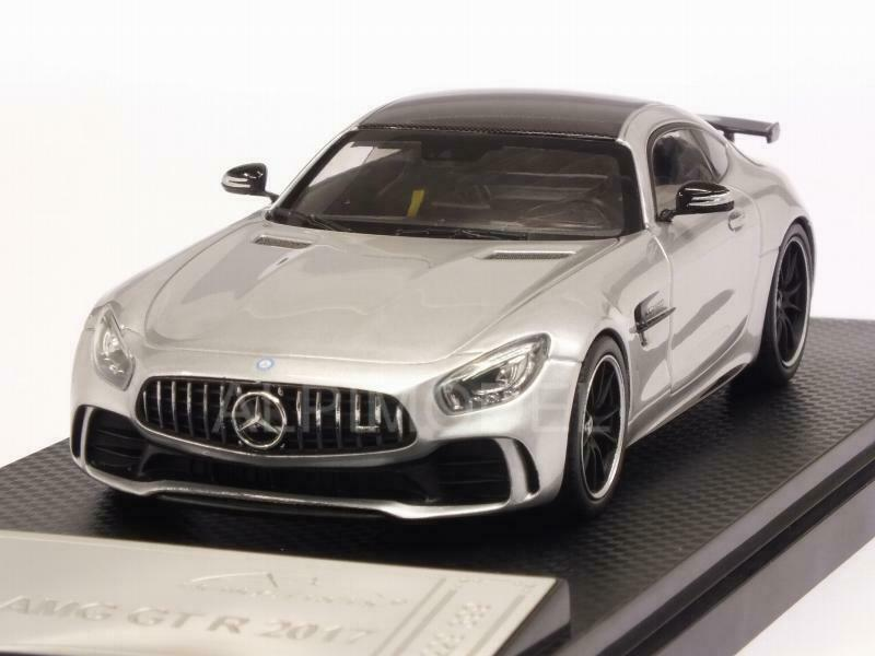 Mercedes AMG GT R 2017 argento 1 43 ALMOST REAL 420706