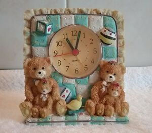 CHERISHED TEDDY CLOCK ORNAMENT - <span itemprop=availableAtOrFrom>Wigton, United Kingdom</span> - CHERISHED TEDDY CLOCK ORNAMENT - Wigton, United Kingdom