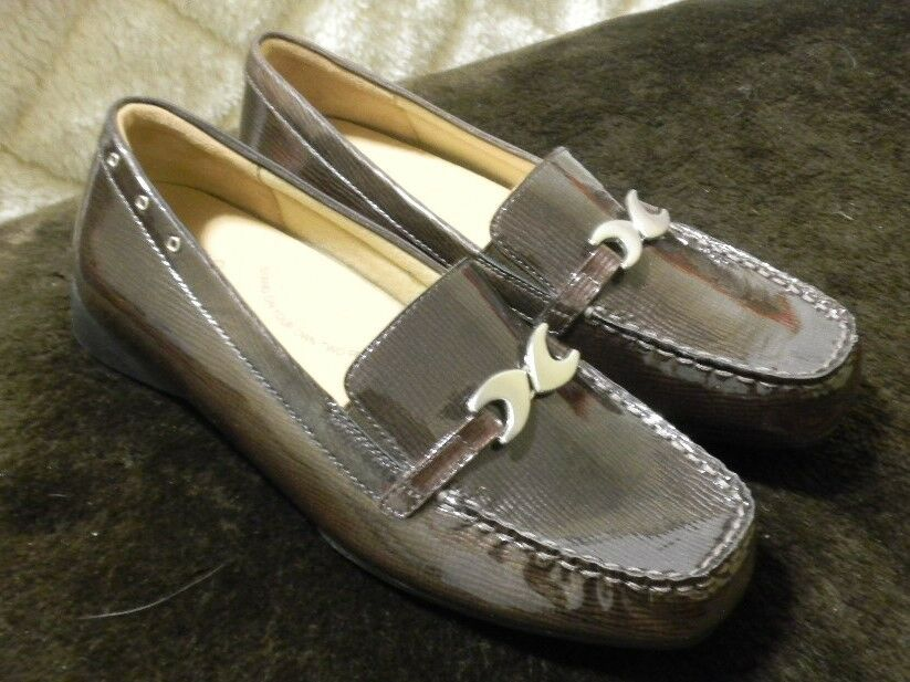 Ziera Comfort Plus Brown Leather Loafer US 7.5M