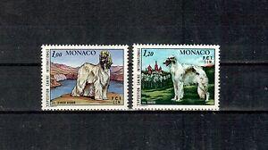 Logique Monako Michel Numéro 1347 - 1348 Cachet (chiens Du Monde Entier: 410)-afficher Le Titre D'origine