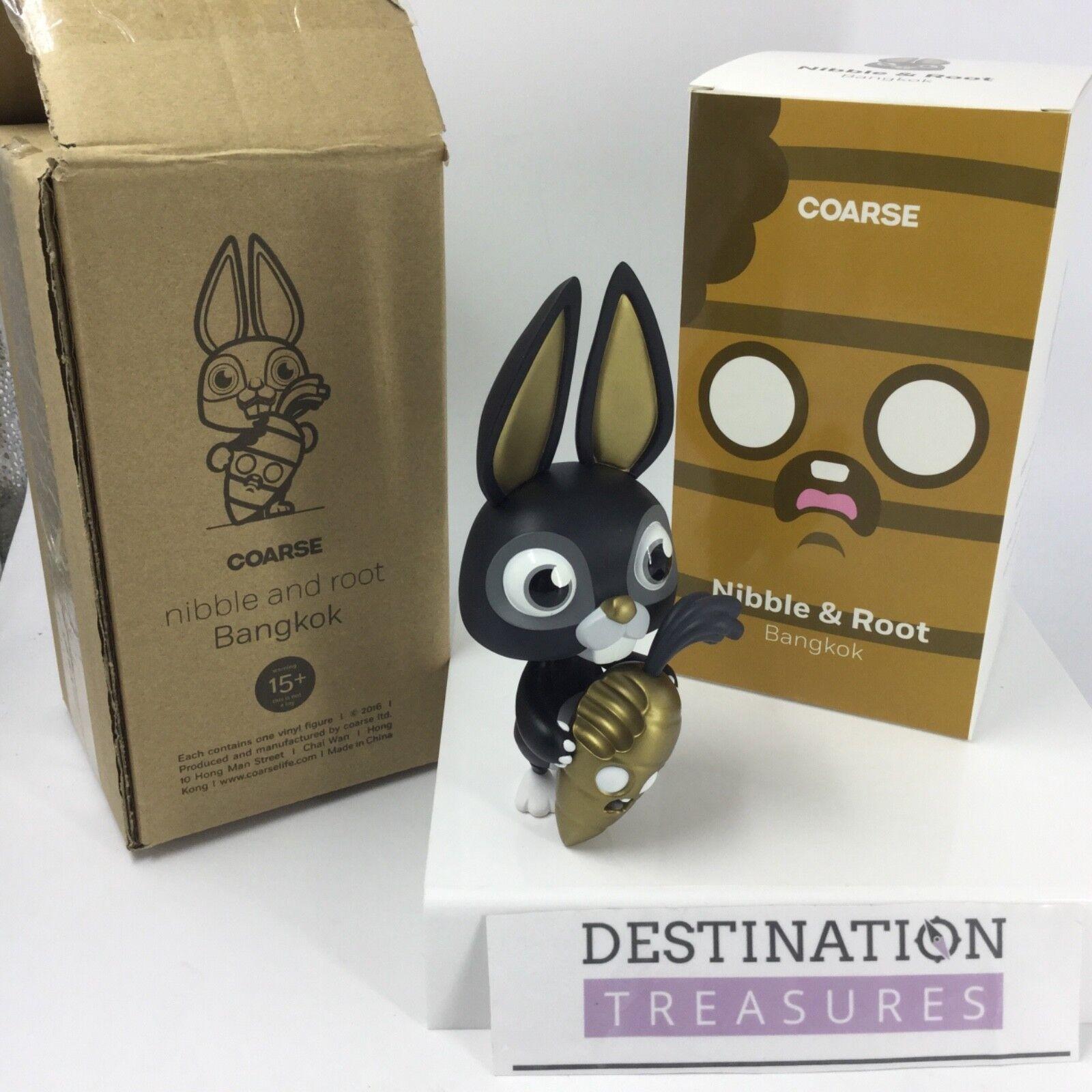 DCon 2018 Coarse Nibble & Root Bangkok Artist Signed Bunny Vinyl Designer Con