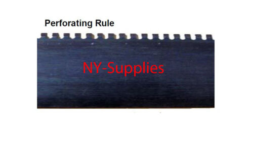 "39.37/"" long Die Cutting Steel Rule 10 pcs Perforating Rule 2pt 0.937/"" height"