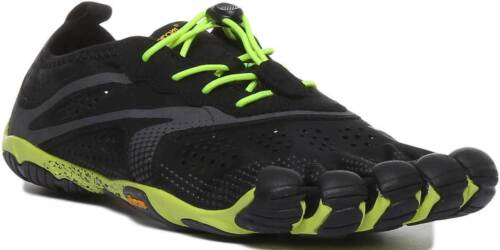 Jaune Fingers Uk Nus Hommes Noir V S Vibram Pieds Five Chaussures Synthétique De Course Run qx0wB5