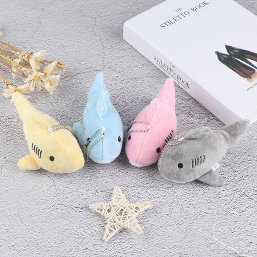 12CM Key chain Gift Shark Plush Stuffed Toy Doll Mini Pendant Plush ToyHFUK sl