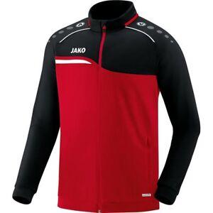 Activewear Jako Herren Polyesterjacke Trainingsjacke Jacke S M L Xl Xxl 3xl 4xl Rot/schwarz